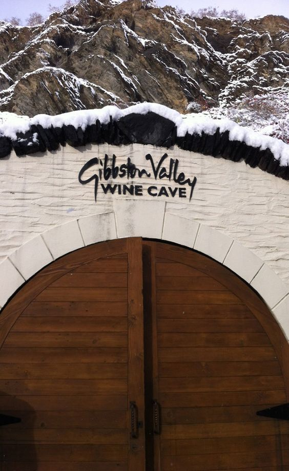 New Zealand's largest #Wine Cave in winter. See us for a tour and tasting experience in Central Otago. #GibbstonValley #nzwine #winecations