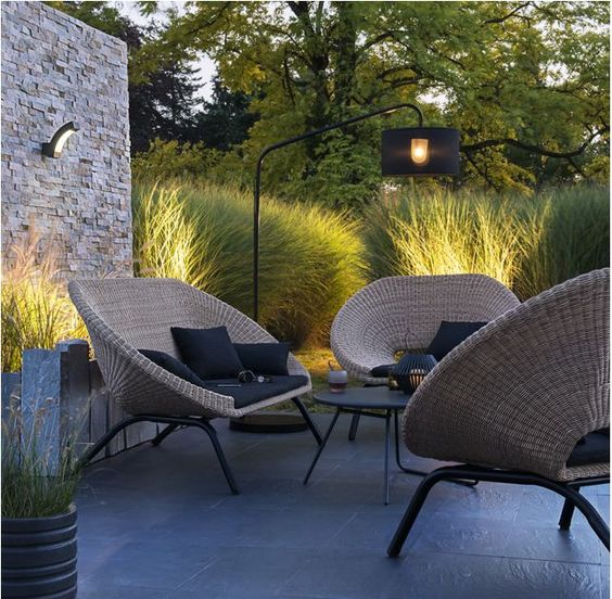 Salon De Jardin En Rotin Collection Loa Outdoor Pinterest Chaises Et Salons
