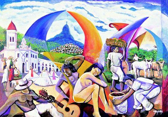 Instituto Internacional de Arte Naif - IIAN: Wanderley Caramba IIAN - Arte Naïf Brasileira - Mais de 250 Artistas: