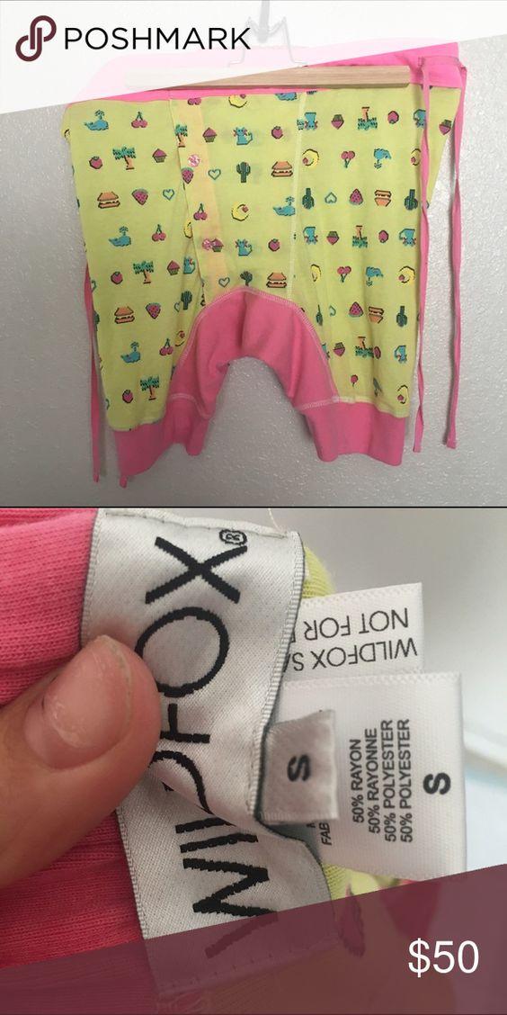WILDFOX EMOJI SHORTS SZ SMALL NEW NO TAGS New Wildfox Shorts