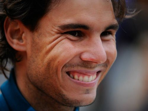 What a gorgeous man!! Rafa Nadal