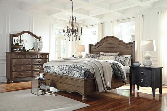 The Tanshire Panel Bed From Ashley Furniture Homestore