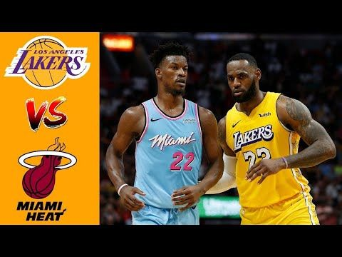 Los Angeles Lakers Vs Miami Heat Highlights 3rd Quarter Game 1 Nba Finals Trong 2020