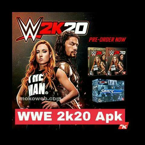 Wwe 2k20 Ppsspp Psp Apk Iso Download For Android Wwe Game Download Wwe Wwe Game