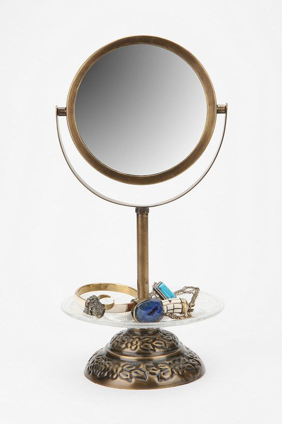 $29.99 Vanity Mirror- Feeling the jewelry-compartment!