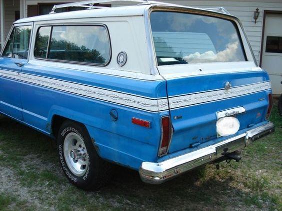 1978 jeep cherokee chief 5000 cleveland ga craigslist jeep wagoneer cherokee j 10 j 20. Black Bedroom Furniture Sets. Home Design Ideas
