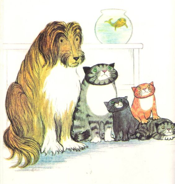 """When Willy Went to the Wedding"" by Judith Kerr, 1973 (https://www.etsy.com/listing/152664337/when-willy-went-to-the-wedding?ref=shop_home_active)"