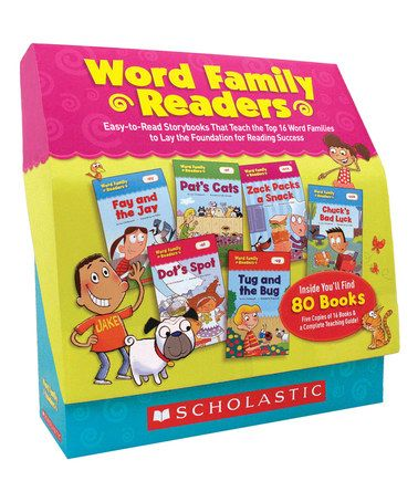 Love this Word Family Readers Boxed Paperback Set on #zulily! #zulilyfinds