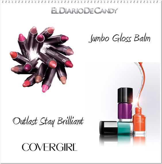 Cover Girl Jumbo Gloss Balm y Outlast Stay Brilliant: http://wp.me/p1Ti7x-WS