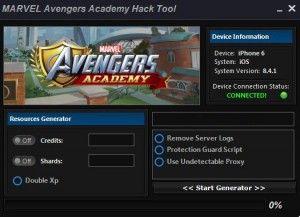 Marvel Avengers Academy Code de triche