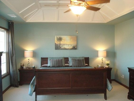 Natural Master Bedroom Paint Colors To Give You Warmth And Comfort Charming Blue Interior