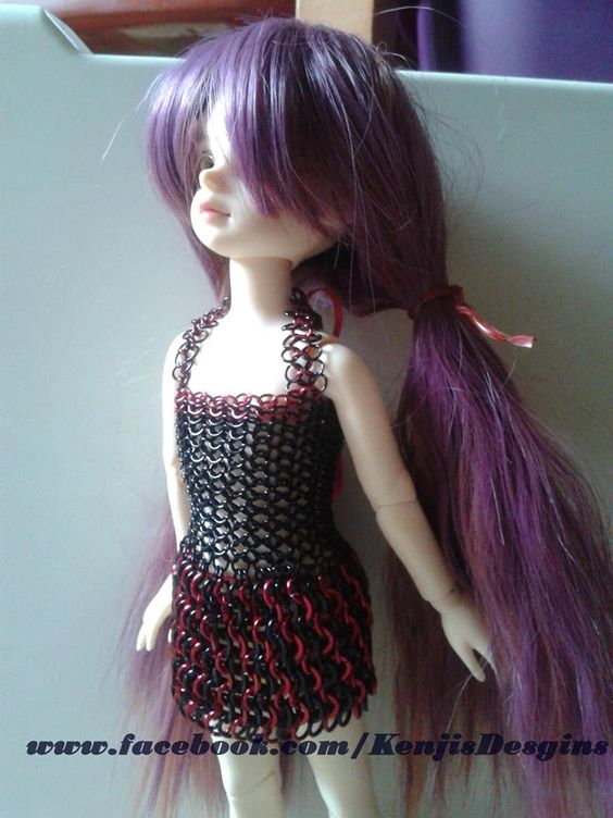 #BJD #Chainmaille #Doll