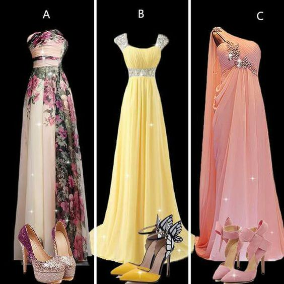 #gowns... Love the one on the left!!
