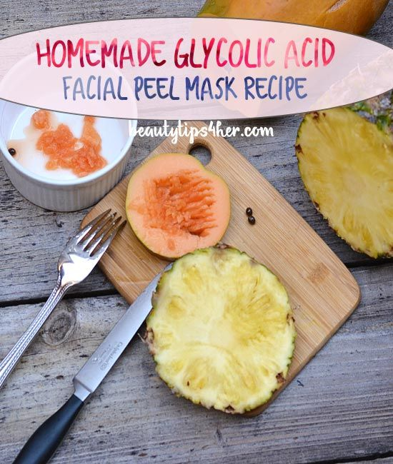 Homemade Glycolic Acid Peel Mask for a Fresh, Bright Complexion | DIY Beauty Skincare and Health Tips