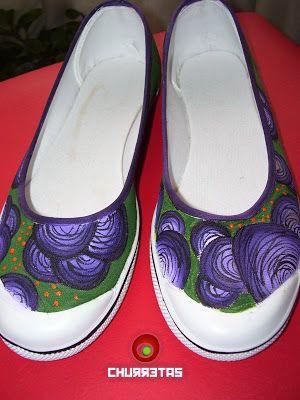 Zapatillas Pintadas | Churretas Onda Shoes: junio 2009