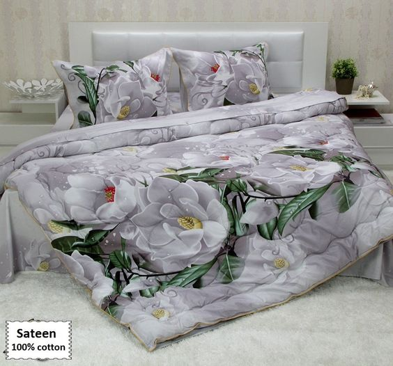 3D Comforter Sets Queen King Single Sizes, Luxury Bedding Sets Queen King Single Sizes 4, 5 or 7 Pieces