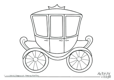 Carriage Coloring Pages Carriage Coloring Pages Carriage Colouring Page 2 Princess Carriage Colouring Family Coloring Pages Family Coloring Cute Coloring Pages