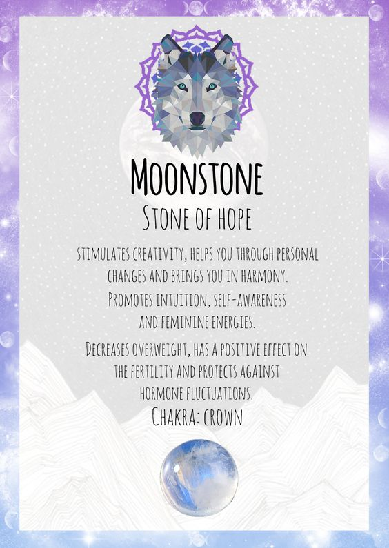 Moonstone- 7 healing crystals for weight loss - OurMindfulLife.com