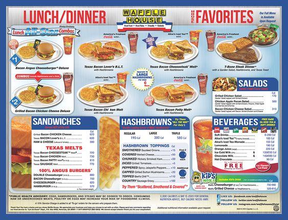 Waffle house marketing plan