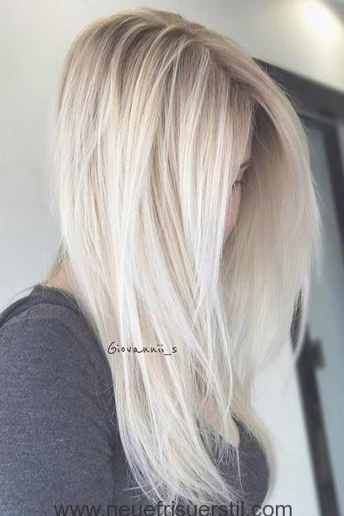 8 Blonde Lange Frisur Hair Pinterest Blond Balayage And Frauen Haare Haarfarben Frisuren Lang Langhaarfrisuren