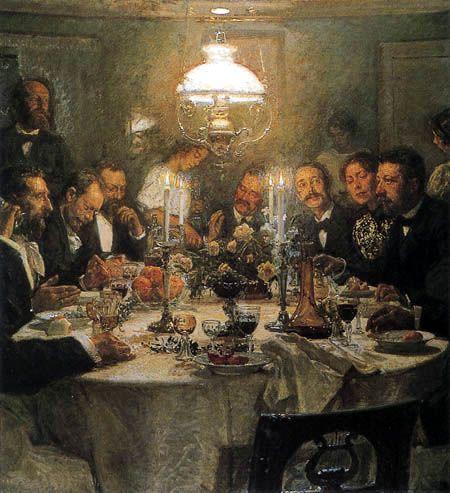 Viggo Johansen - Meeting of the painters