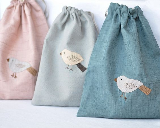 :: Crafty :: Quilt :: Patchwork :: bird bags