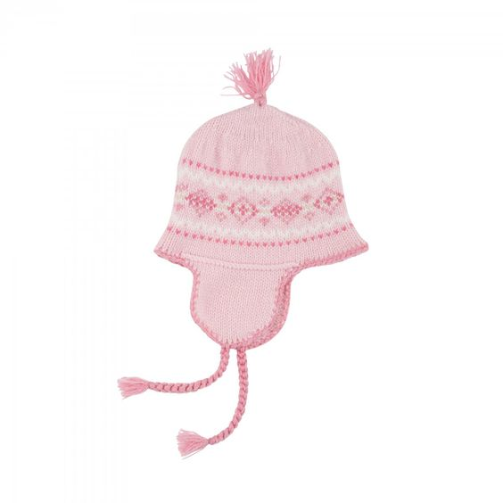 Johnstons of Elgin knit hat - worn by Princess Charlotte: