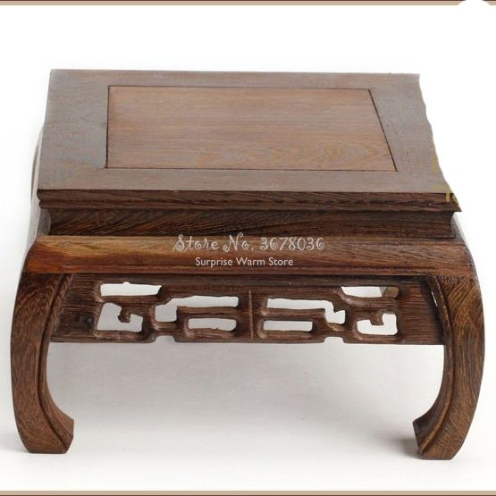 Solid Wood Tea Table Rosewood Carving Decoration Base Vase Buddha Kistler Display Rack Multi Use Rectangle Small Coff In 2020 Coffee Table Tea Table Small Coffee Table