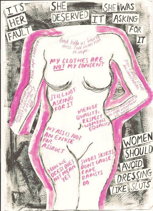 artwork imahurrricane feminism: