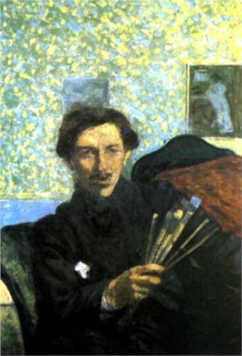 Self-portrait (1905) by Italian artist Umberto Boccioni (1882-1916) - Pinacoteca di Brera in Milan.
