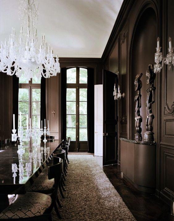 Lenny Kravitz's private residence in Paris  Designed by Kravitz Design