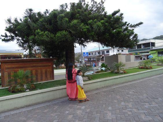 street in Boquete