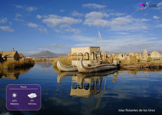 ✈ #ViajaconGMC a #Puno - #Perú y disfruta de este maravilloso destino visitando las islas flotantes de los Uros en el lago #Titicaca.