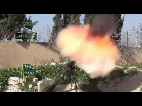 قناة اورينت قوات حركة تحرير حمص تستهدف حواجز قوات النظام على جبهة الغاصب...