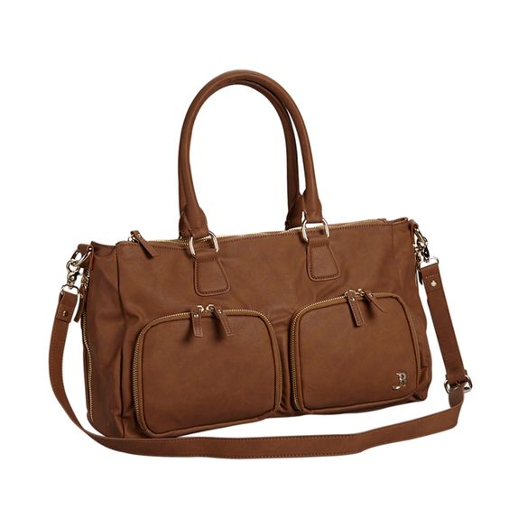 Breast Pump Satchel in Cognac - We've got the ultimate everyday breast pump bag that will have you discretely toting that breast pump in style. #PNshop
