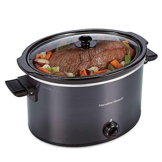12 Quart Slow Cooker Bed Bath Beyond Slow Cooker Slow Cooker Crock Pot Stoneware Crocks