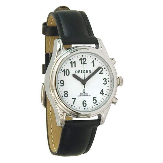 talking atomic watch womens and kids leather band radios talking watch radio controlled womens kids leather talking watches