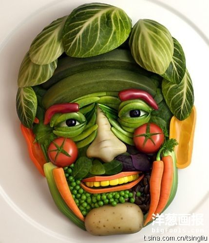 Vegetable Uncle Face