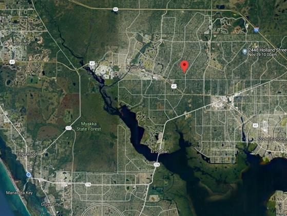 North Port Land Near City Water And In Flood Zone X Flood