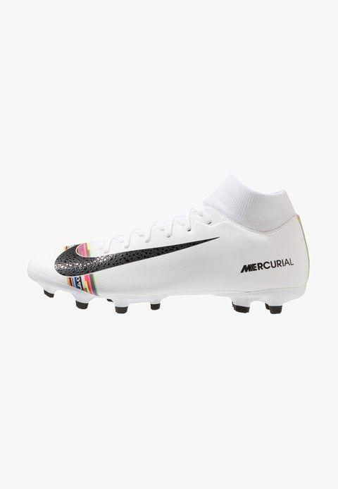 ACADEMY FGMG Chaussures de foot à crampons whiteblack
