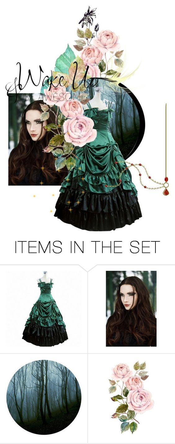 """Wake Up"" by sonjanaimann ❤ liked on Polyvore featuring art"
