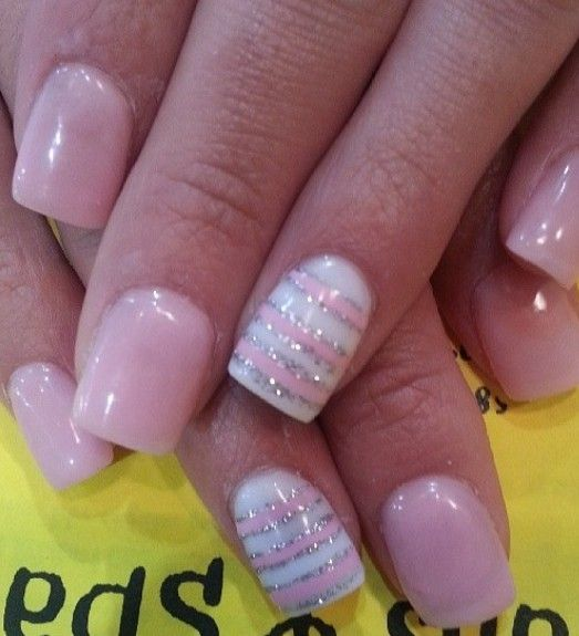 15 pink nail arts you must have light pink nails pink nails and 15 pink nail arts you must have light pink nails pink nails and lights prinsesfo Gallery