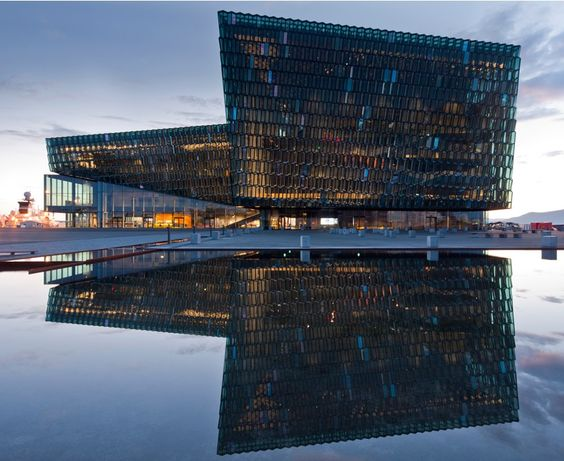HARPA - Reykjavik Concert Hall and Conference Centre, Iceland