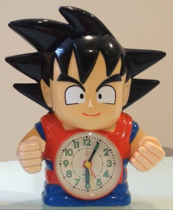 Good Morning Baby Japanese Version : Goku alarm clock this was my actual in th