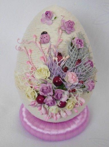 Piekne Jajko Pisanka Ozdoby Wielkanocne Rekodzielo 7165947305 Oficjalne Archiwum Allegro Easter Crafts Crafts Easter Dyi