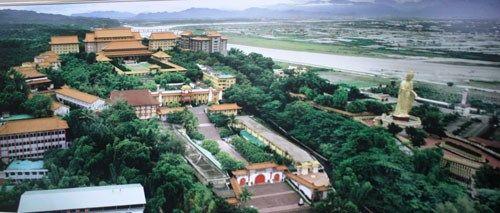 Khung cảnh thanh tịnh tại Phật Quang Sơn