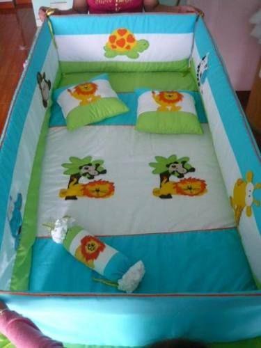 Protector cunas para bebes buscar con google colchas bebe pinterest b squeda - Protectores para cama cuna ...
