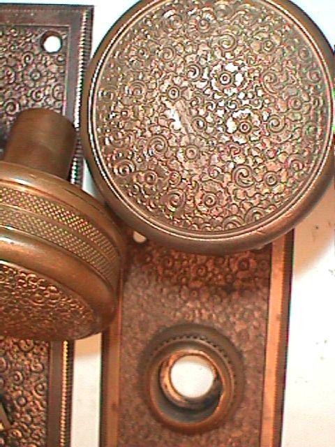 Antique Restoration Hardware door knob set. Antique Restoration Hardware door knob set   Door Hardware