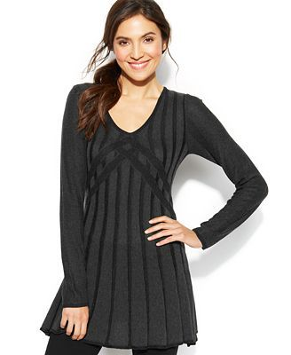 A Line Tunic Sweater
