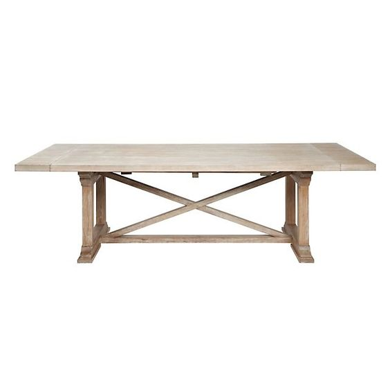 Extension dining table furniture and ps on pinterest for Z gallerie dining room table